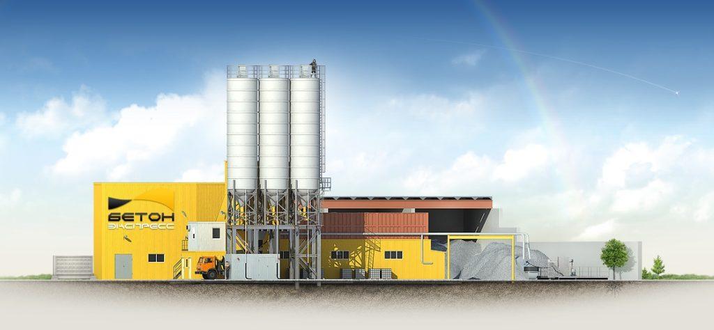 Бетонный завод Liebherr в Екатеринбурге
