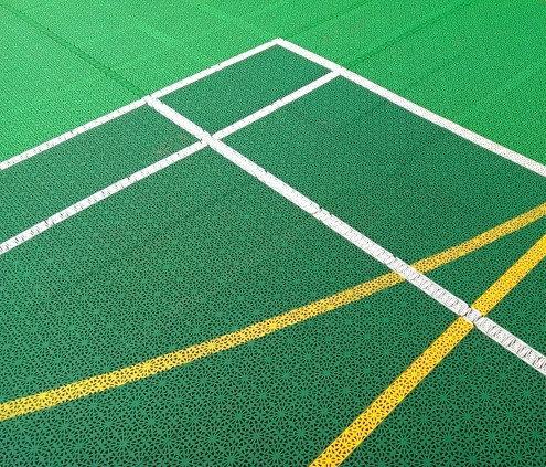 Модульное покрытие для спортплощадки